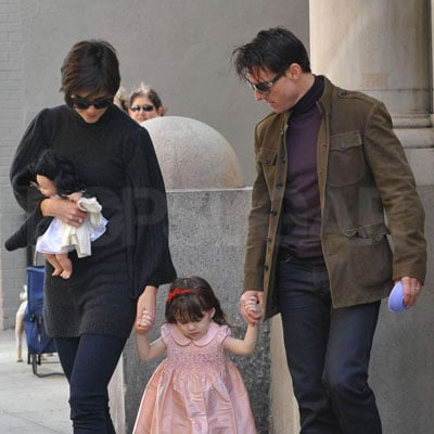 Tom Cruise, Katie Holmes, and Suri Cruise Out in NYC 2008-10-02 15:00:00