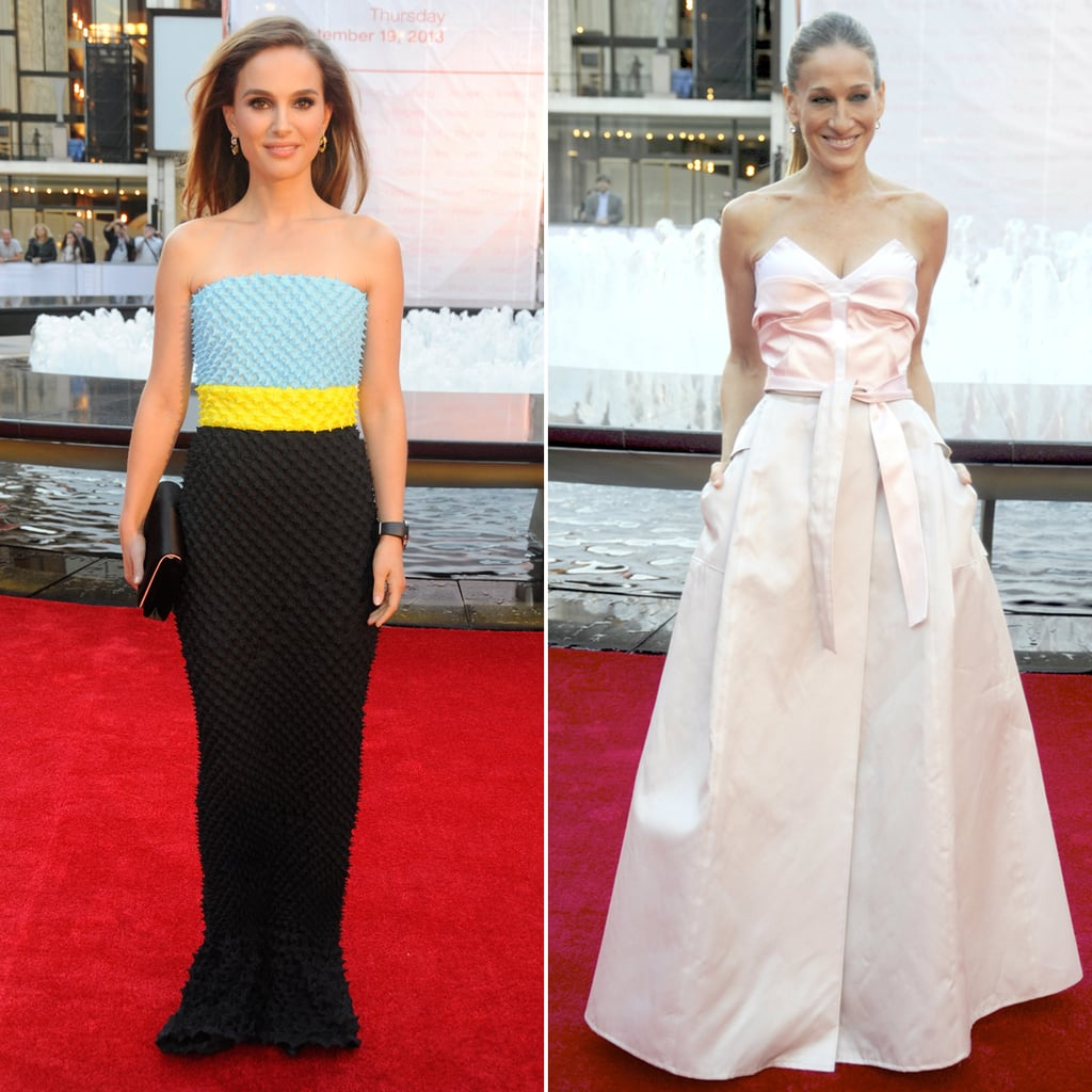Sarah Jessica Parker and Natalie Portman at The NYCB Gala
