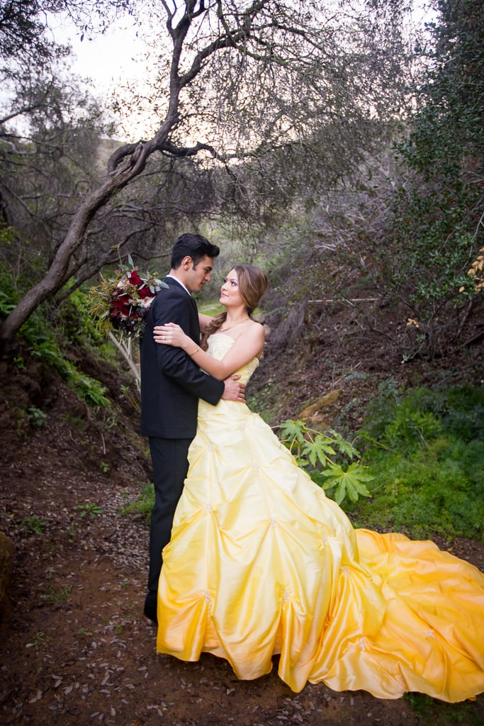 Beauty and the Beast Modern Styled Wedding