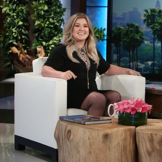 Kelly Clarkson on The Ellen DeGeneres Show October 2016