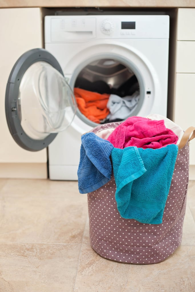 Wash Kitchen Towels Separately From Other Laundry