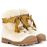 Chloé Shearling Ankle Boots
