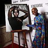 Cynthia Erivo at the 2020 Los Angeles Confidential Magazine Oscars Party