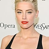 Amber Heard at the Metropolitan Opera gala in NYC.
