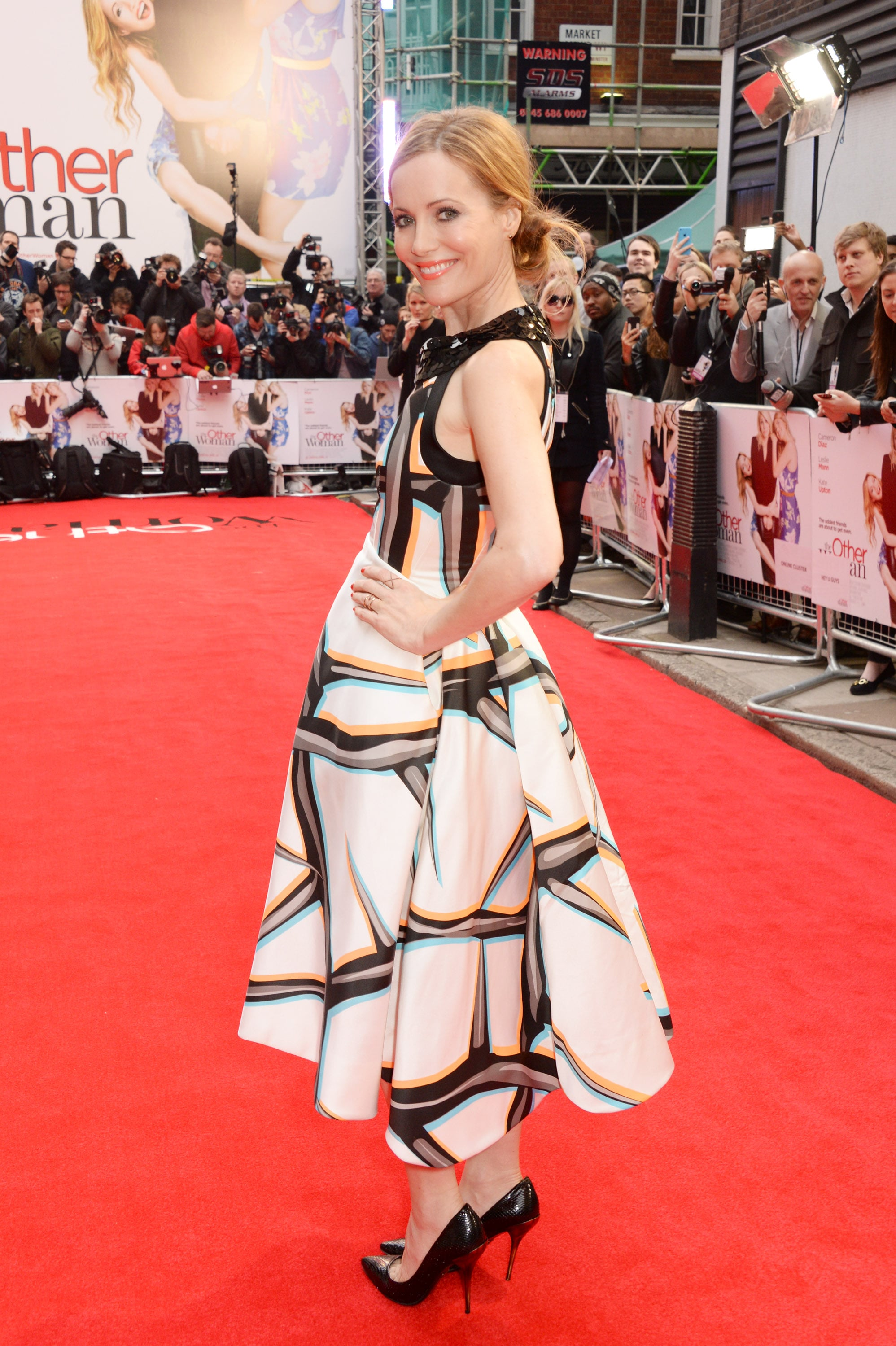 Leslie Mann at the London Premiere of The Other Woman