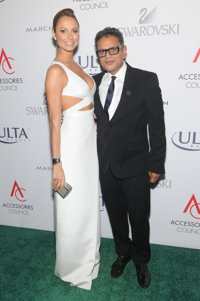 Stacy Keibler showed why she was named style ambassador and joined Naeem Khan at the ACE Awards.