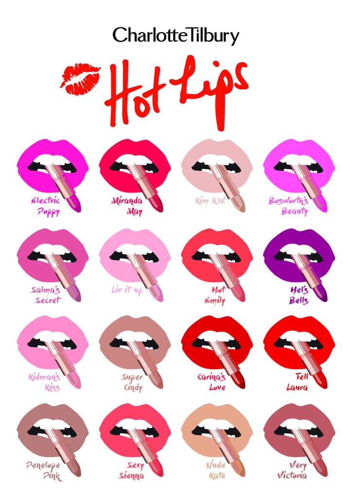 Charlotte Tilbury Hot Lips Lipsticks