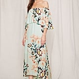 Forever 21 FOREVER 21+ Pretty by Rory Floral Midi Dress