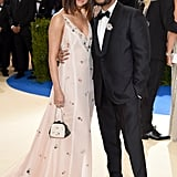 Selena Gomez and The Weeknd at the Met Gala 2017