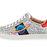 Gucci Saturn Glitter Low-Top Sneakers