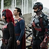 """See The CW's """"Crisis on Infinite Earths"""" Arrowverse Photos"""