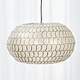 Bonnie: Luna Capiz Pendant Light