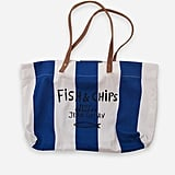 Fish & Chips Tote Bag ($107)