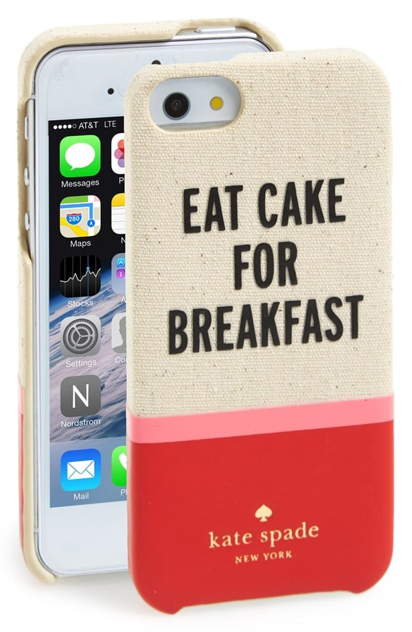 Kate Spade Eat Cake For Breakfast iPhone 5 Case