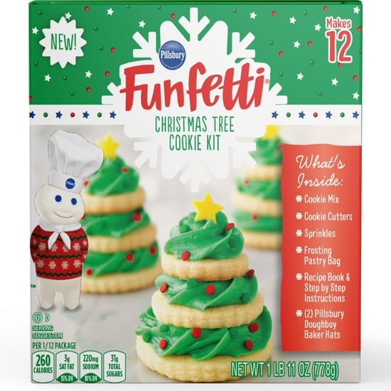Pillsbury's Funfetti Christmas Tree Cookie Kits