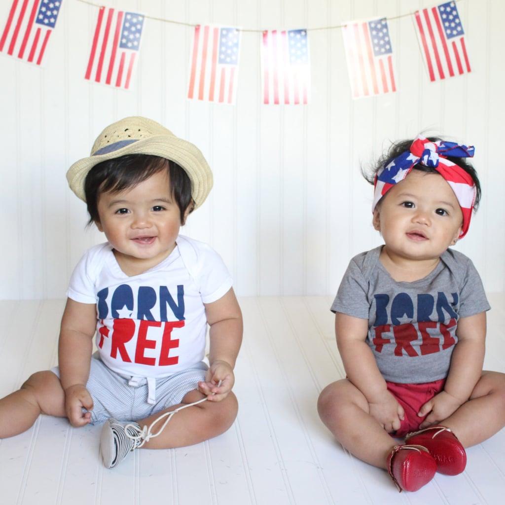 """Born Free"" Onesie"