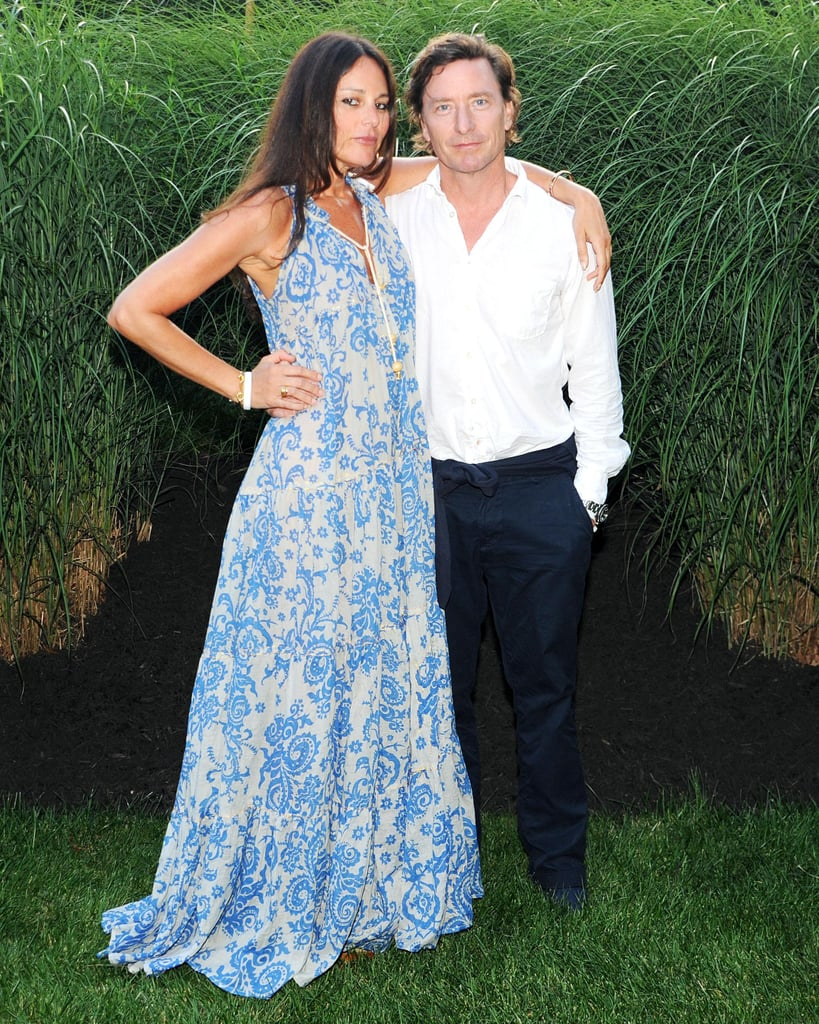 Lisa Marie Fernandez joined Doug Lloyd in the grassy setting for the Watermill Center's Devil's Heaven annual Summer benefit.