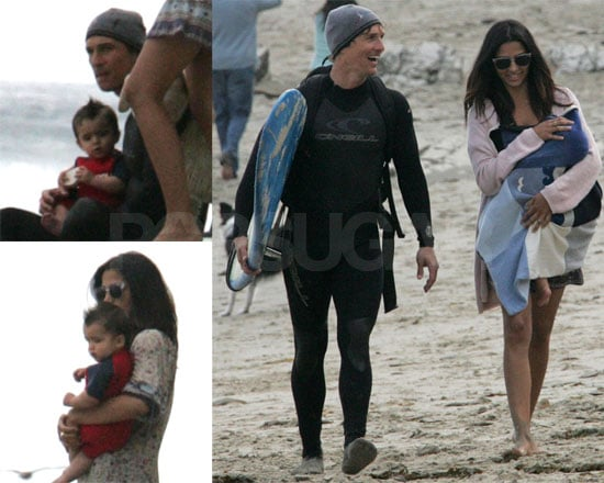 Matthew, Levi and Camila at the Beach