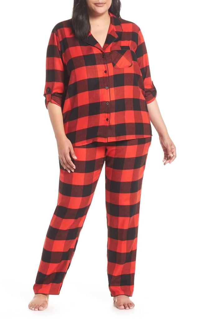 354acad2671d Nordstrom Starlight Plaid Flannel Pajamas