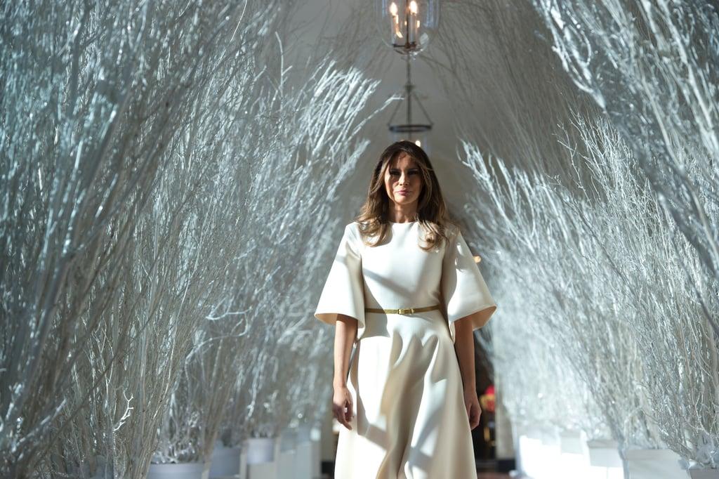 Melania Trump White House Christma Decorations Memes