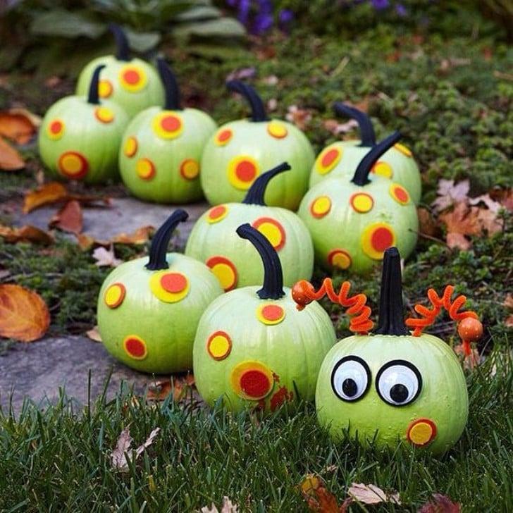 Halloween Painted Pumpkins Part - 36: PopSugar