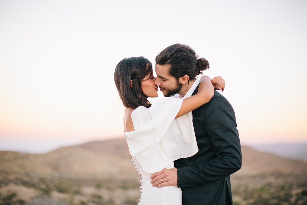 Oregon-based Kelly and Lee brought pieces of their Portland abode to Joshua Tree, CA, to help make their reception feel authentically them. See the wedding here!