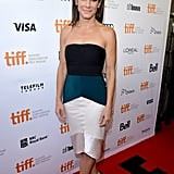 Sandra Bullock walked the red carpet at the TIFF premiere of Gravity.