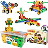 ETI Toys STEM Learning Original 101 Piece Educational Construction Blocks Set