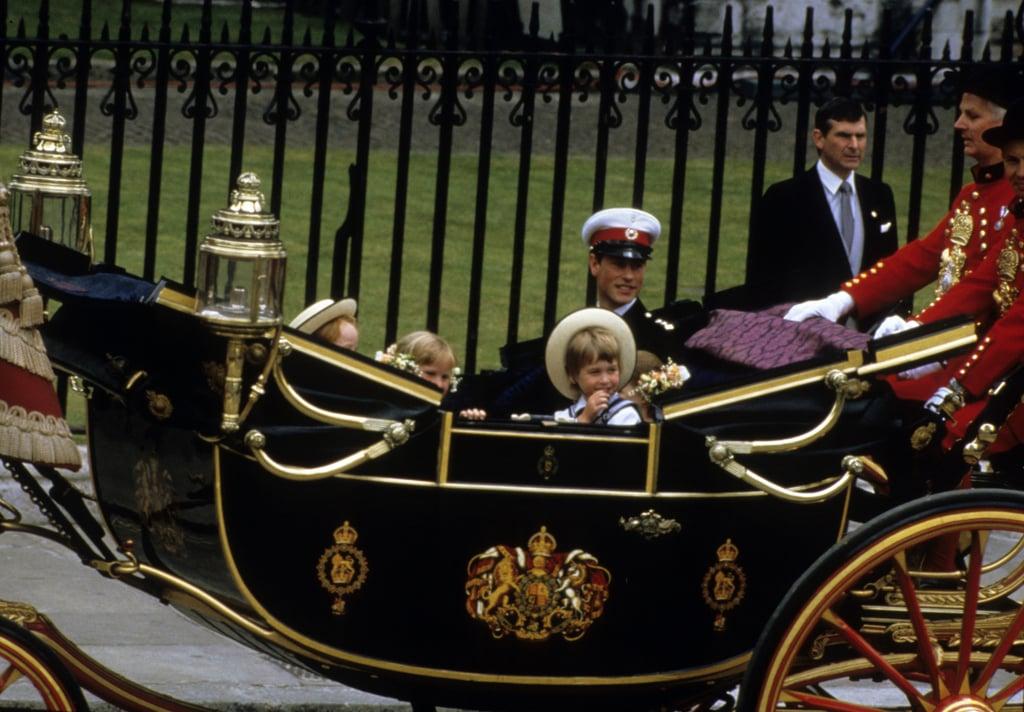 Prince William in 1986