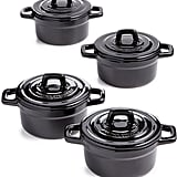 Martha Stewart Collection 4-Pc Heirloom Ceramic Cocotte Set