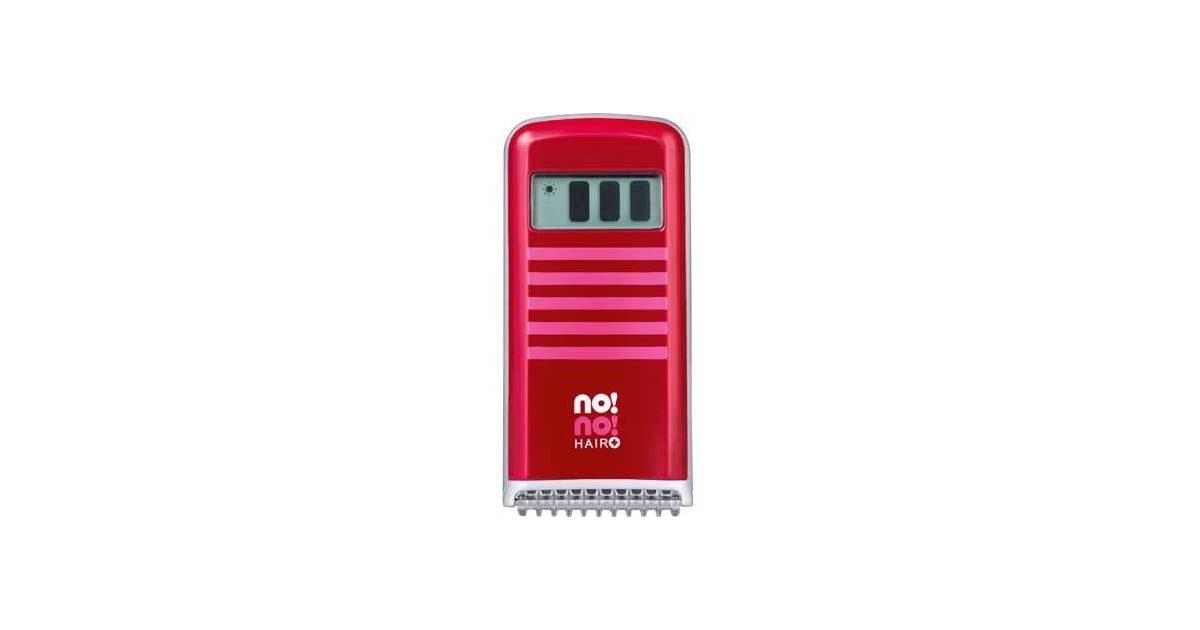 No No  Body And Face Plus Hair Removal System