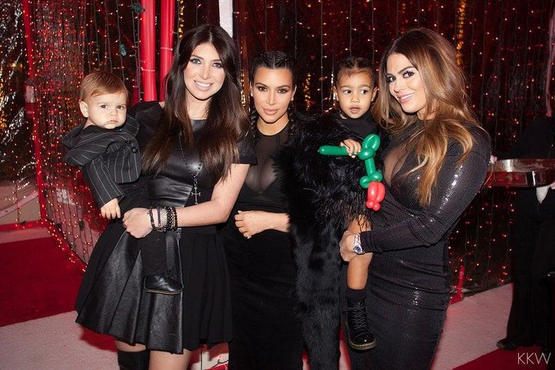 kardashian christmas party 2015 pictures popsugar celebrity - Kardashians Christmas Photos