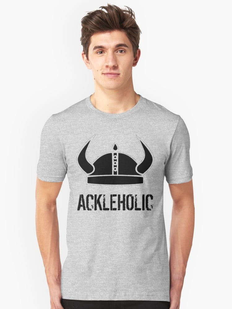 """Ackleholic"" Jensen Ackles T-Shirt"