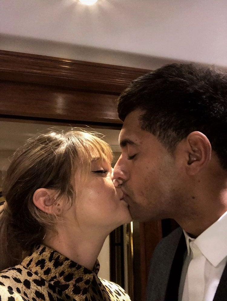 Shailene Woodley and Ben Volavola