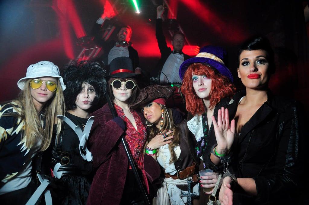 Johnny Depp Characters Girl Group Halloween Costumes Popsugar
