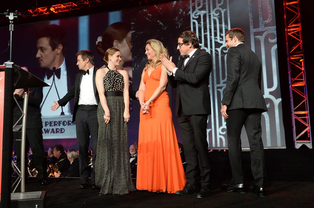 The cast of American Hustle was honored with the ensemble performance award.