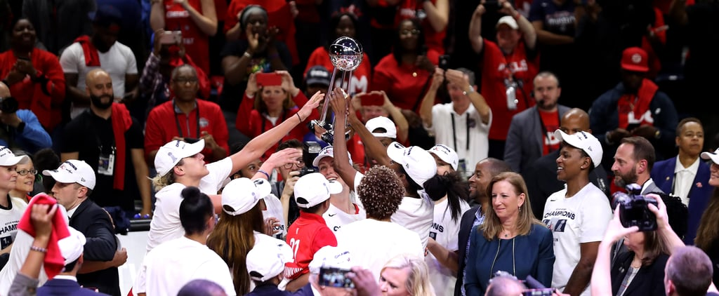 Washington Mystics Win First-Ever WNBA Championship