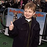 Cute at the premiere of See Spot Run in February 2001.