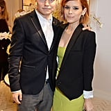 On Thursday, Kate Mara and her cousin John Mara Jr. attended an event at the new Jimmy Choo store on Bond Street in London.