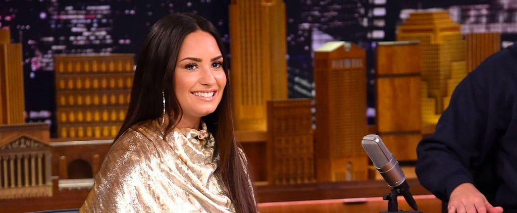 Demi Lovato Talking About Snoop Dogg With Jimmy Fallon Video