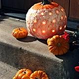 A Doily Pumpkin