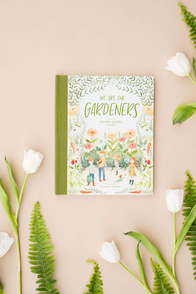 """Mom of five and Fixer Upper alum Joanna Gaines has obviously been very busy lately. Just seven months after giving birth to her son Crew, Joanna announced that she's been working on a children's book called We Are the Gardeners with her children. And guess what? It's officially on book shelves now! The book centers on """"bunnies that eat everything"""" and is meant to inspire kiddos to cultivate their own green thumbs. She added that it's """"our way of sharing what the garden means to us, and the many adventures we've had along the way!""""  According to Joanna, she's always been passionate about plants and gardening. She hoped to pass her hobby down to her own kiddos by starting a family garden.       Related:                                                                                                           Joanna Gaines Says This Crew """"Cuddlefest"""" Almost Made Her Heart Burst, and SAME               """"The garden has always been a place that inspires me,"""" she said. """"There's something about digging deep into fresh soil or watching new life burst from what was not long ago just a tiny seed that reinforces what a gift life is. I think that's part of why my kids have come to love spending time in the garden just as much as I do.""""  The 40-year-old mama also emphasized that kids can learn a ton from getting their hands dirty. """"It can be a great teacher, if we pause long enough to notice all there is to learn,"""" she said. """"Where every day can be a lesson in hard work, and sometimes even in failure, but where there's also growth worth celebrating."""""""