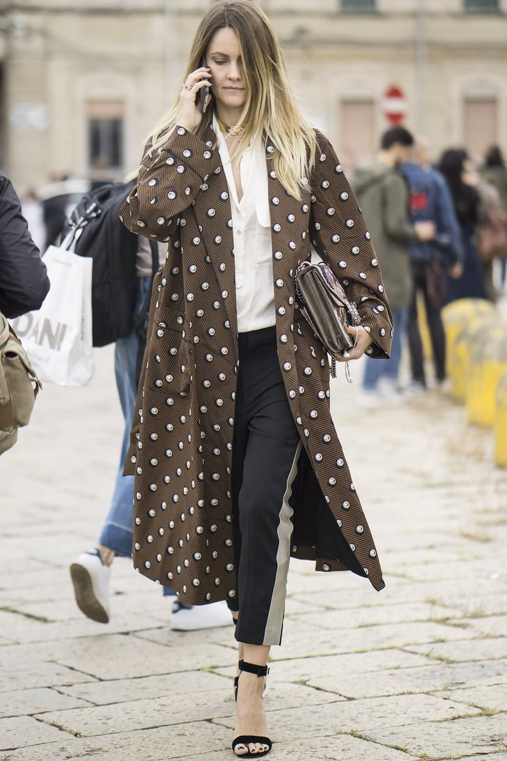 Milan Fashion Week Street Style Spring 2017 Popsugar Fashion Photo 173