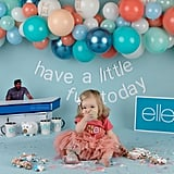 Ellen DeGeneres Cake Smash Photo Shoot