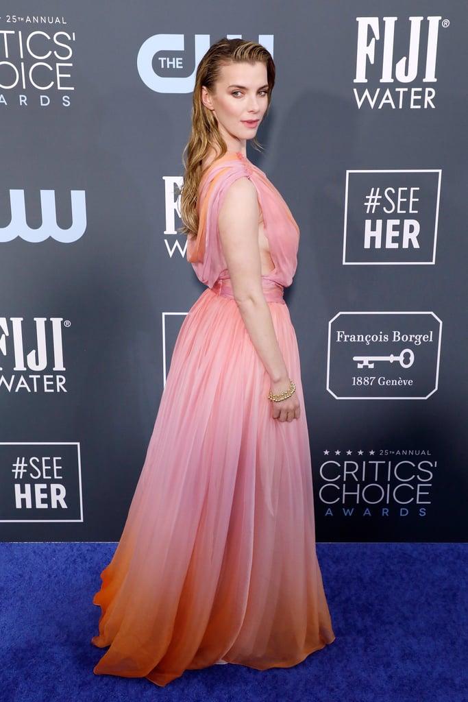 Betty Gilpin at the 2020 Critics' Choice Awards