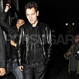 Clive Owen night out in London.