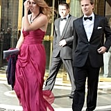 That same year, they also went to Petra Ecclestone and James Stunt's wedding in Rome, Italy.