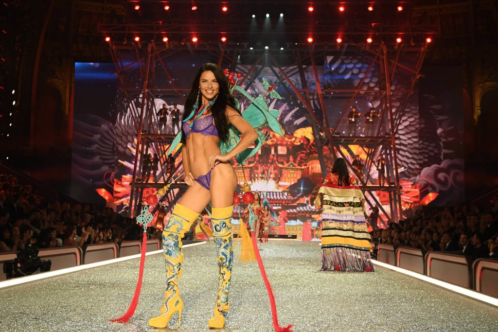 Adriana Lima on Victoria's Secret Fashion Show Runway 2016