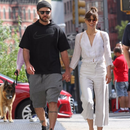 Justin Timberlake and Jessica Biel Holding Hands in NYC 2017