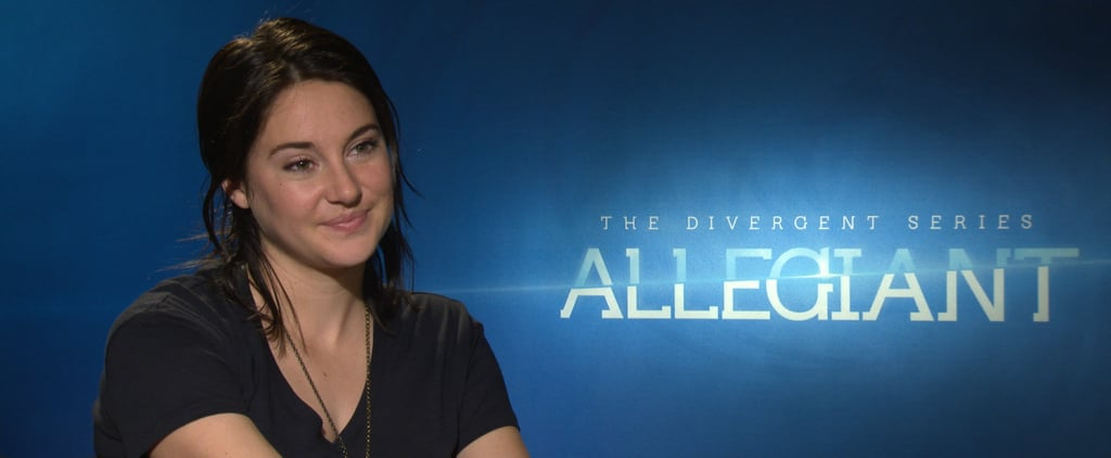 Shailene Woodley on Allegiant's Tris (Video)